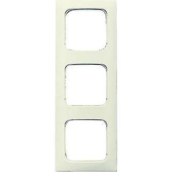 Busch-Jaeger 3x Frame Duro 2000 SI Linear Cream-white 2513-212K-101