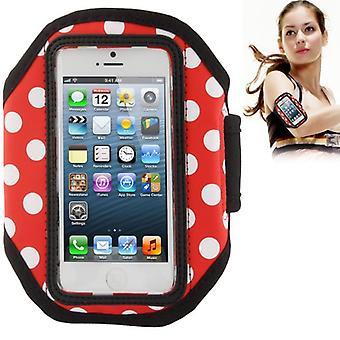Caso de braçadeira para iPhone mobile 5 de esportes / 5s / 5 c.