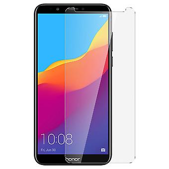 Tempered glass screen protector for Honor 7C, Huawei Y7 2018, 9H hardness