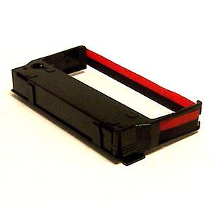 Panasonic 7000-P100 Till ink Ribbons - Pack of 3 - Black / Red