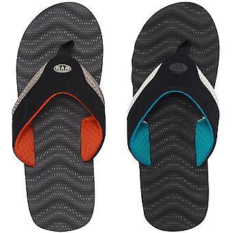 Animale Jekyl Ripple Mens spiaggia vacanza Slip su sandali infradito