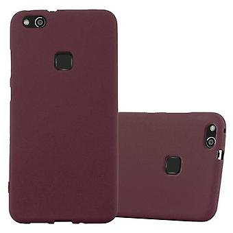 Cadorabo Hülle für Huawei P10 LITE Case Cover - Handyhülle aus flexiblem TPU Silikon – Silikonhülle Schutzhülle Ultra Slim Soft Back Cover Case Bumper