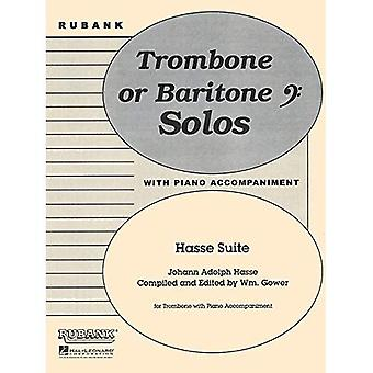 Hasse Suite: Trombone Solo met Piano - Grade 4
