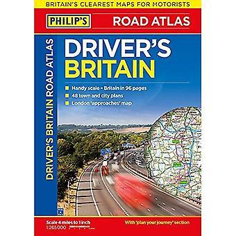 フィリップのドライバーのアトラス イギリス: ペーパー バック