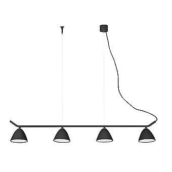 Faro - Flash-schwarz 4-Light einstellbare LED Anhänger FARO20207
