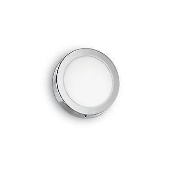 Ideal Lux - universelle kleine weiße Runde LED Flush IDL138596
