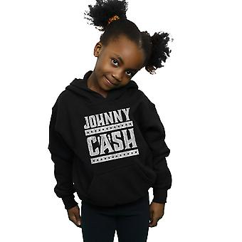 Johnny Cash Girls Stars And Stripes Hoodie
