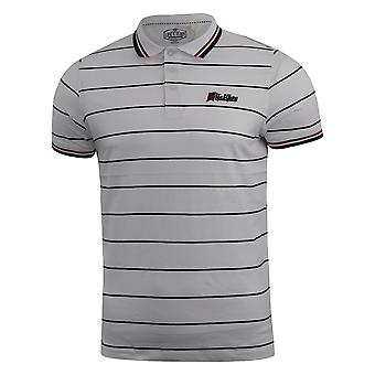 Mens polo t-shirt life and glory pique taliman top