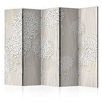 Paravent 5 volets - Paper Dandelions II [Room Dividers]