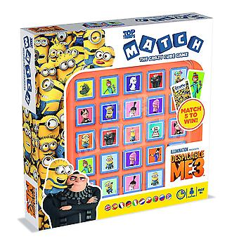 Despicable Me 3 Top Trumps Match Crazy Cube Game