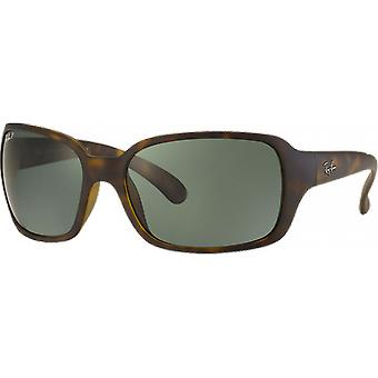 Ray-Ban RB4068 Polarized Green Mat Scale