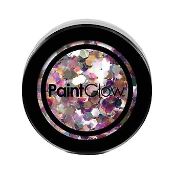 PaintGlow Chunky UV paillettes holographiques Carnaval Chaos