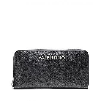 Valentino by Mario Valentino Divina Pebbled Zip Around Wallet