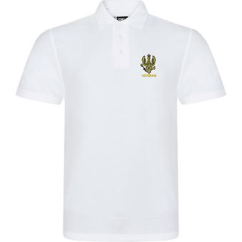 14th 20th Kings Hussars veteran-licenseret British Army broderet RTX Polo