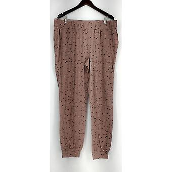 Anybody Lounge Pants, Sleep Shorts XLT Loungewear Tall Cozy Knit Blush Pink