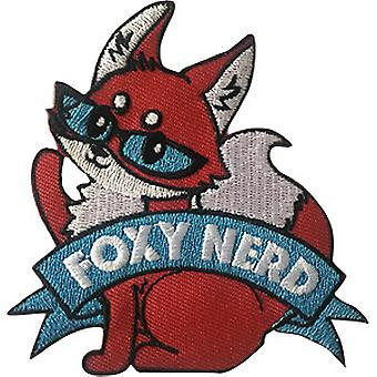 Patch - Video Games - Foxy Nerd Icon-On p-dsx-4693