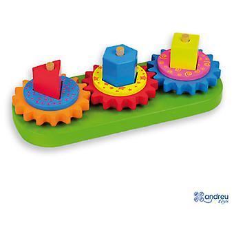 安德烈玩具陀螺块