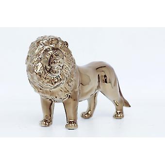 Leeuw decoratie figuur sieraad stijlvolle voor thuisgebruik 36x23cm