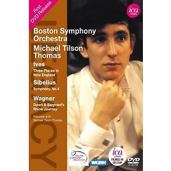 Legacy: Michael Tilson Thomas [DVD] USA import