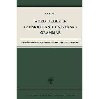 Word Order i sanskrit og Universal Grammar av Staal & J.F.