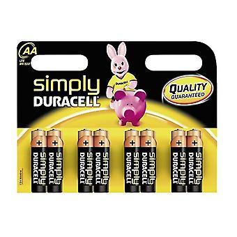 Duracell gewoon AAA batterijen-8 Pack | iParts4u