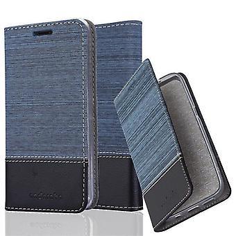 Cadorabo Hülle für BQ Aquaris M5 Case Cover - Handyhülle mit Magnetverschluss, Standfunktion und Kartenfach – Case Cover Schutzhülle Etui Tasche Book Klapp Style