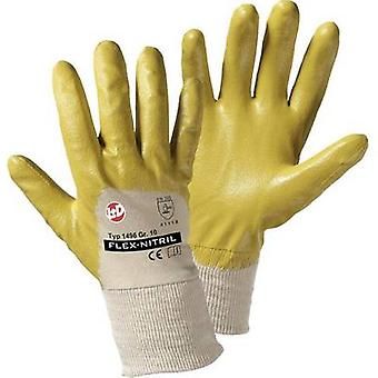 L+D worky Flex Nitril 1496 Nitrile butadiene rubber Protective glove Size (gloves): 7, S EN 388-2003 CAT II 1 Pair