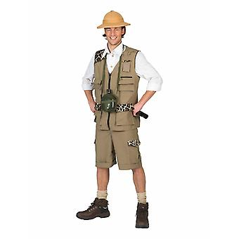 Photo Safari Costume Explorer Explorer Costume Homme