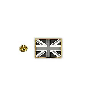 Pins Pin Badge Pin's Metal Epoxy Drapeau Uk Royaume Uni Anglais Noir
