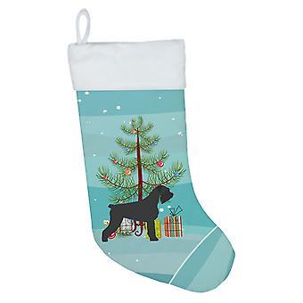 Jättiläinen Schnauzer Merry joulu kuusi joulu sukat