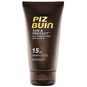 Piz Buin tan og Protec Intensifyng Søn lotion 15 SPF 150 ml