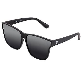 Sixty One Delos Polarized Sunglasses - Black/Black