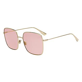 Dior Stellaire 1 J5G/JW Gold/Orange Sunglasses