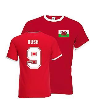 Ian Rush Galles Ringer Tee (rouge)