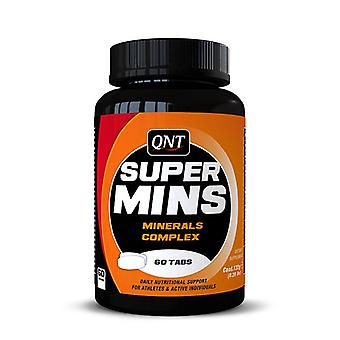 QNT Super Mins Mineral Complex Muscle Performance Dietary Supplement - 60 Tabs