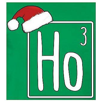 Grindstore Mens Ho Ho Ho Christmas T-Shirt