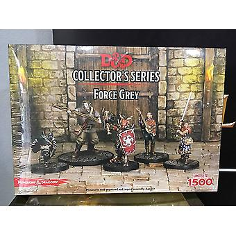 Force Grey 5 Figures D&D Collector's Series Miniature