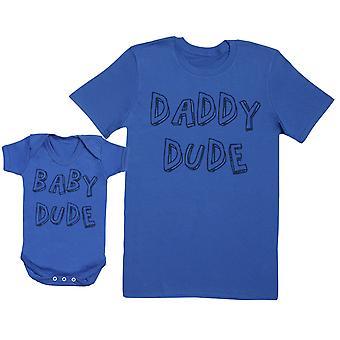 طفل المتأنق والأب المتأنق الطفل هدية مجموعة Mens تي شيرت وملابس الطفل