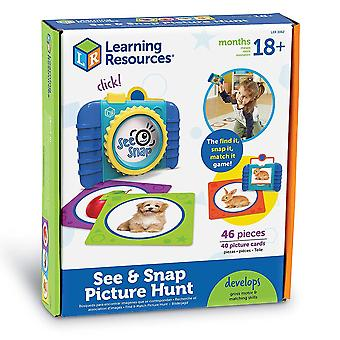 Learning Resources - See & Snap Picture Hunt