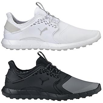 Puma Golf Mens Ignite Pwrsport Pro Spikeless Waterproof Golf Shoes