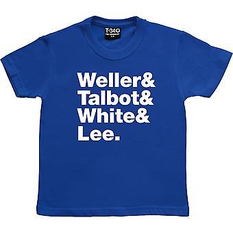 La linea Style Council-Up Royal Blue Kids' T-Shirt