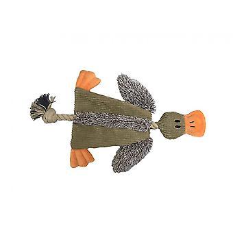Dobrý chlapec Raggy crinkle kačica psie hračka