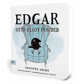 Edgar Gets Ready for Bed A BabyLit First Steps Picture Book by Jennifer Adams