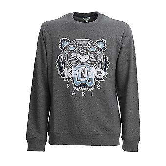 Kenzo Fa55sw0014xa98 Men's Grey Cotton Sweatshirt