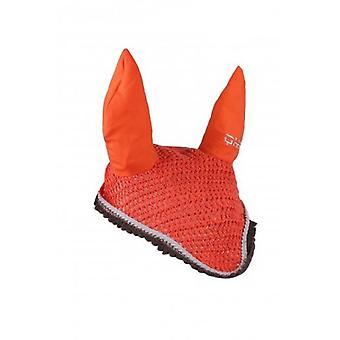 QHP Hot Coral colored earmuffs