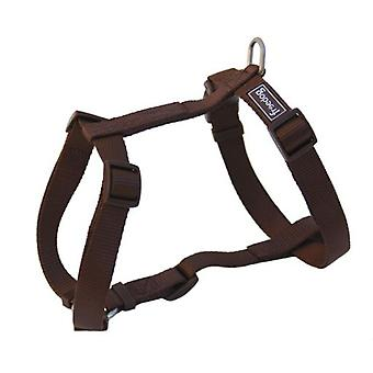 Freedog Harness Nylon Basic Brown (Dogs , Collars, Leads and Harnesses , Harnesses)