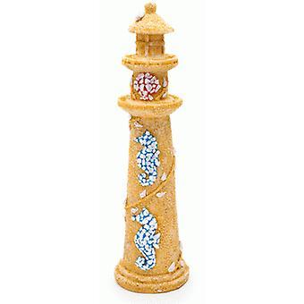 Sandimas Hipocampus Leuchtturm (7 x 25,4 cm) (Fische , Aquariumsdeko , Ornamente )