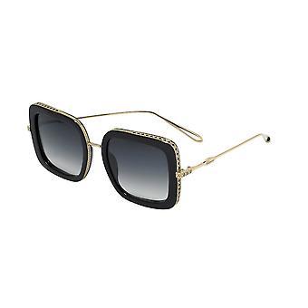 Chopard SCH261M 0300 Shiny Total Rose Gold-Black/Smoke Gradient Sunglasses