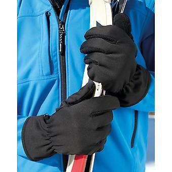 Result Unisex Winter Essentials Softshell Thermal Gloves