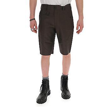 Junya Watanabe P0150513 Hommes-apos;s Short en coton brun